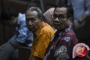 Terdakwa korupsi KTP-e dituntut lima dan tujuh tahun penjara