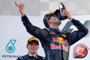 Hasil balapan GP F1 Azerbaijan, Ricciardo juara