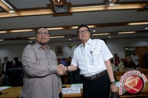 DPR- Pemerintah tunda lagi putuskan isu lima krusial RUU Pemilu