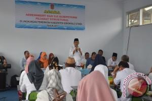 "100 Pejabat Pemkab Gorontalo Utara Ikuti ""assesment"""