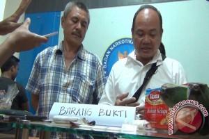 BNNK Gorontalo Gagalkan Penyelundupan Sabu Dalam Pisang