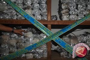 Polisi Gagalkan Pengiriman Empat Kilogram Sabu