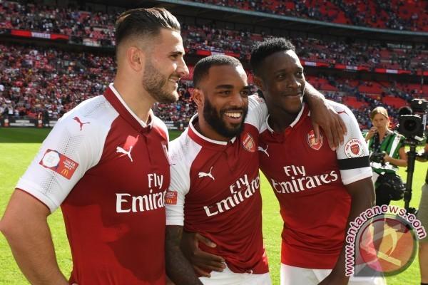 Susunan pemain Arsenal vs Leicester, Lacazette jalani debut Liga Inggris
