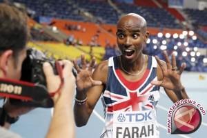 Farah kembali juara dunia lari di 10.000 m