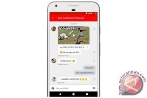 YouTube hadirkan fitur pesan dan berbagi video di aplikasi