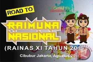 Ratusan Pramuka Gorontalo Ikuti Raimuna Nasional XI