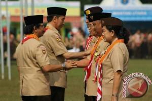 Gubernur Gorontalo Terima Penghargaan Karya Bakti Pramuka