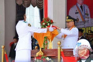 Wagub Gorontalo Irup HUT RI Tingkat Provinsi