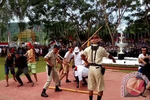 Kodim Pentaskan Drama Kolosal Perjuangan Pahlawan Gorontalo