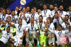 Real Madrid Juara Piala Super