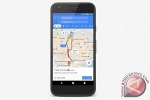 Aplikasi Google Maps diperbarui dengan info parkir
