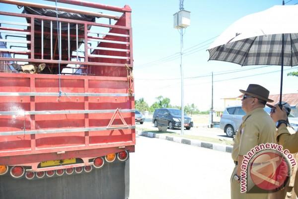 Gubernur Gorontalo Tinjau Pos