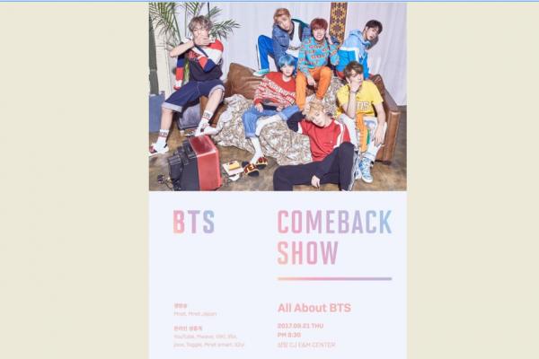 BTS akan hadirkan