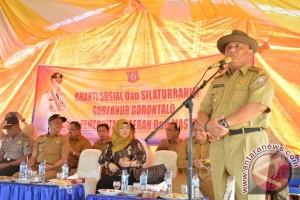 Gubernur Optimistis Jalan Perbatasan Gorontalo-sulteng Segera Dituntaskan