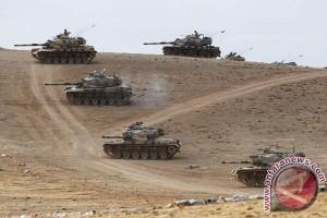 Turki kerahkan 80 kendaraan militer ke perbatasan Suriah