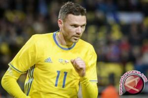 Swedia berpesta delapan gol ke gawang Luksemburg