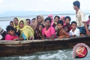 Perahu pengungsi dari Myanmar tenggelam saat menuju Bangladesh