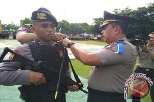 Polda Gorontalo Kirimkan 102 Personil Jaga Perbatasan