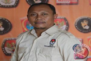 KPU Gorut Terima Berkas Administrasi Sepuluh Parpol