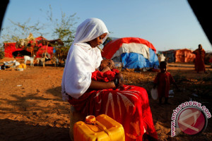 Kemarau parah dan konflik paksa satu juta orang Somalia menyelamatkan diri