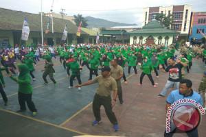 Kodim Gelar Olah Raga Pererat Persatuan TNI