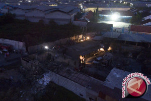Pabrik petasan diduga tertutup rapat saat kejadian ledakan