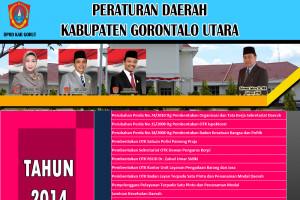Perda Yang Telah Dihasilkan oleh DPRD Kabupaten Gorontalo Utara