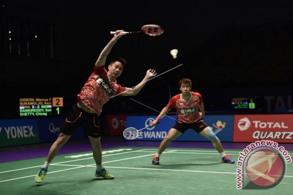 Marcus/Kevin Juara China Terbuka