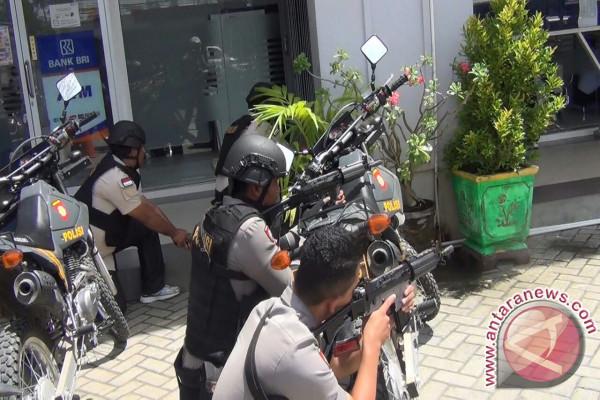 Polres Pohuwato Gelar Simulasi Penanggulangan Kejahatan Perbankan