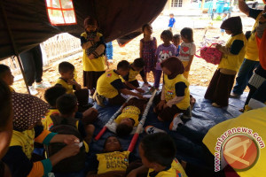 BPBD Simulasikan Penanggulangan Bencana Bagi Siswa Kepulauan