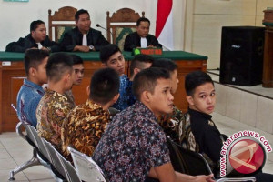 Sembilan taruna Akpol dihukum enam bulan penjara
