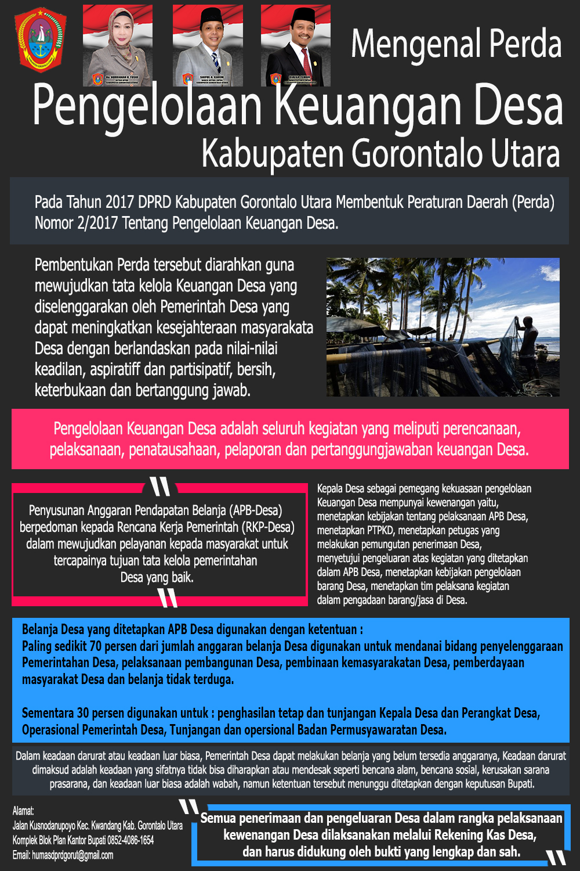 Mengenal Perda Pengelolaan Keuangan Desa Kab Gorontalo Utara