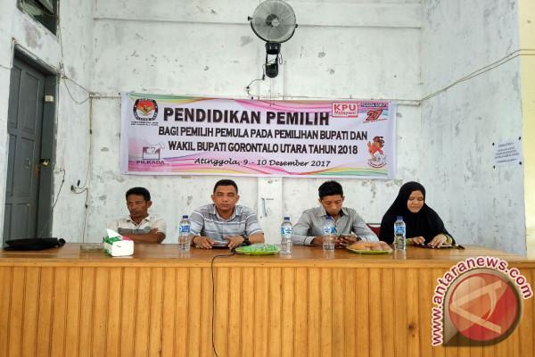 KPU Gorontalo Utara Targetkan Peningkatan Pemilih Pemula 100 Persen