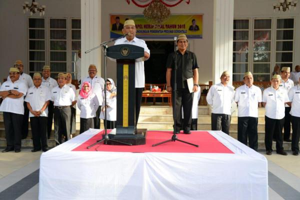 Wajibkan Penggunaan Upia Karanji Bagi ASN Gorontalo