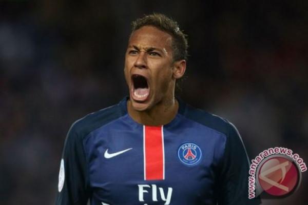 Neymar Kembali Jalani Latihan Setelah Cedera