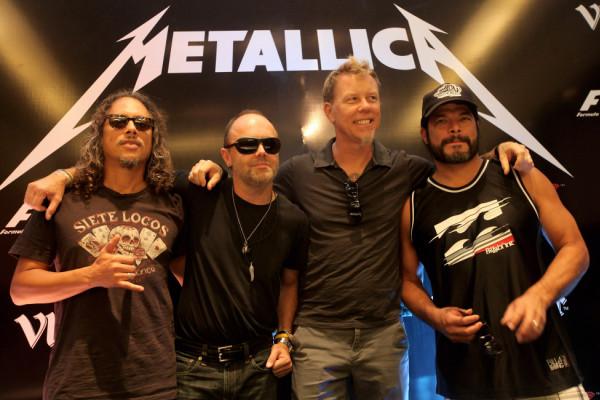 """""""Metallica"""" raih hadiah Polar 2018"""