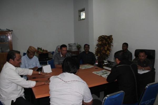 Rapat Pengawasan Pembangunan Pemerintah Gorontalo Utara