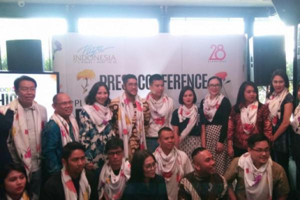 """Perancang Indonesia Hadirkan Ragam Kain Tradisional Jadi Koleksi """"stylish """""""