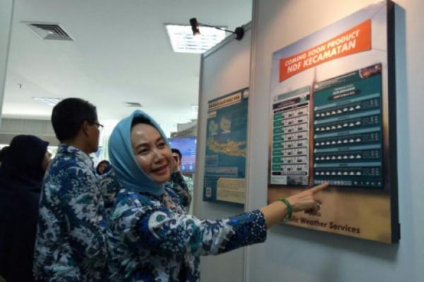 Prakiraan Cuaca Berbasis Kecamatan Diluncurkan