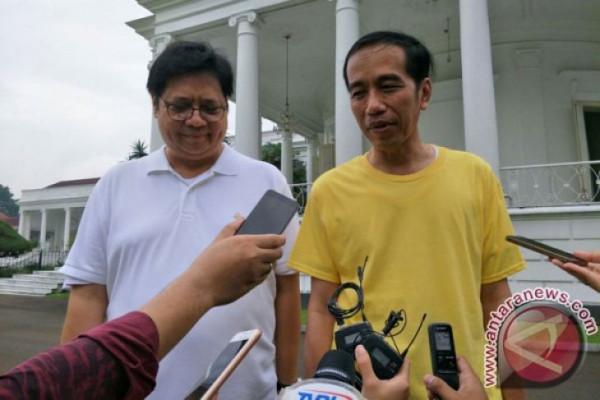 Presiden Jokowi Mengaku Bahas Cawapres Dengan Airlangga