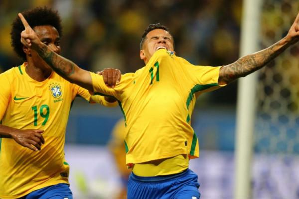 Brazil Kalahkan Rusia 3-0