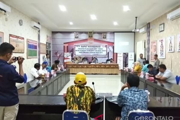 KPU Gorontalo Utara Jadwalkan Debat Terbuka Cabup/Cawabup