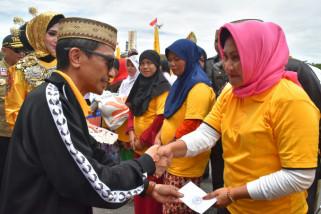 6.000 Relawan Tagana Temu Akbar di Gorontalo