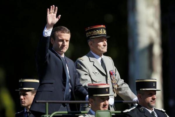 Macron telepon Sisi Membahas Perang Suriah