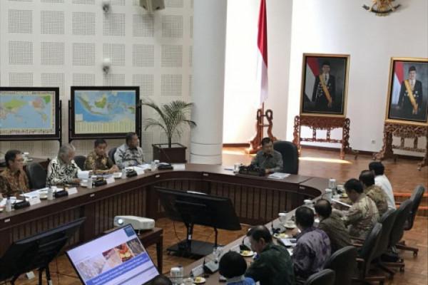 Wapres Pimpin Ratas Kebijakan Perjanjian Perdagangan Bebas
