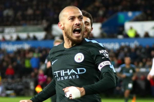 City Hancurkan Swansea 5-0