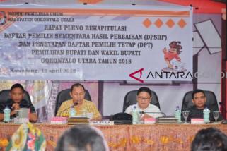 KPU Gorut Akan Identifikasi Pemilih Meninggal Pascapenetapan DPT