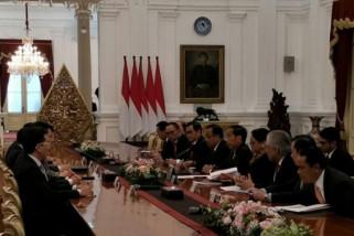 Presiden Menerima Kepala Eksekutif Hong Kong