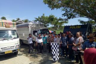 KPU Gorontalo Utara Distribusikan Logistik Wilayah Terjauh