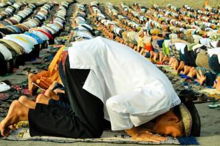 Pastor-Pemuda Katolik Ikut Pengamanan Idul Fitri